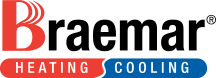 Braemar heating and cooling logo
