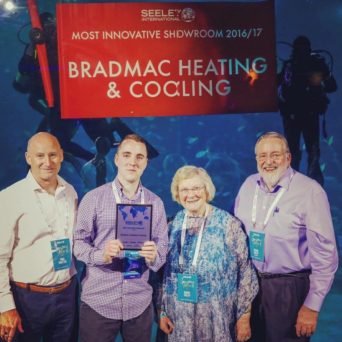 most innovative showroom award